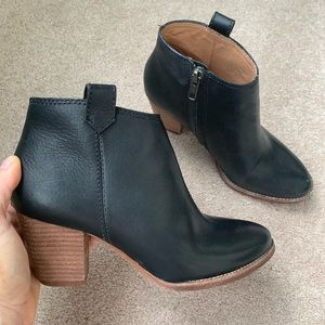 Madewell Leather Billie Bootie